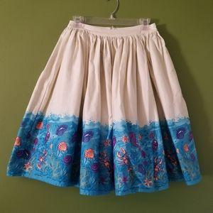 Collectif Seashell Skirt